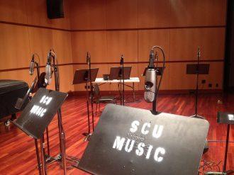 SCU Music Stands and Mics